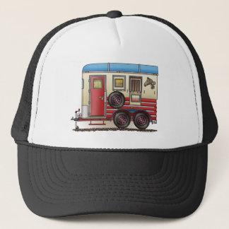 Horse Trailer Camper Trucker Hat