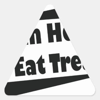 Horse Trainer Triangle Sticker