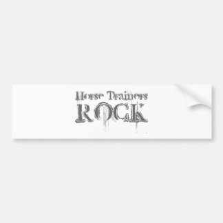 Horse Trainers Rock Bumper Stickers