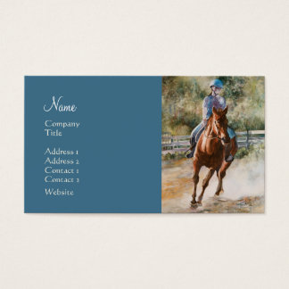Riding stable business cards templates zazzle horse training stables horseback riding academy business card yadclub Choice Image