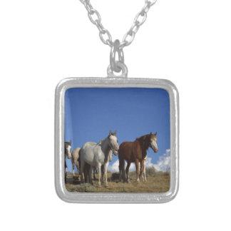 Horse Trio Custom Necklace