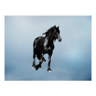 Horse turning suddenly poster