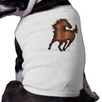 HORSE VAN GOGH STYLE SHIRT