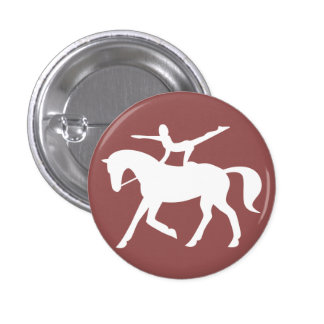 horse vaulting icon button