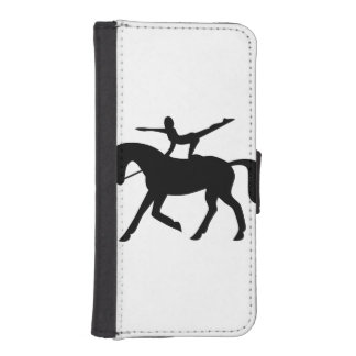 horse vaulting icon iPhone SE/5/5s wallet