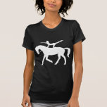 horse vaulting icon T-Shirt