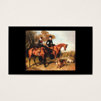 Horse Vintage Business Card