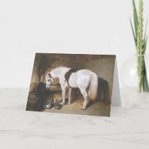 Horse Vintage Greeting Card