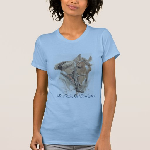 Horse Vintage Ladies T-Shirt