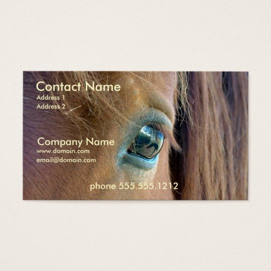 Horse Vision Business Card