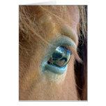 Horse Vision Greeting Card