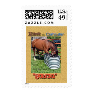 Horse vs. Computer: Surfing Postage
