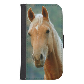 Horse Wallet Phone Case For Samsung Galaxy S4