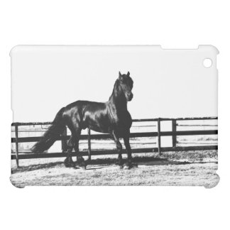 Horse watching over you iPad mini covers
