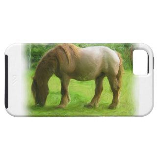 Horse Watercolor Painting Effect iPhone 5 Case
