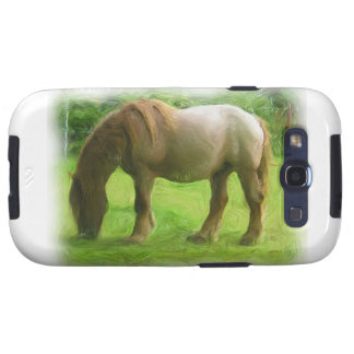 Horse Watercolor Painting Effect Samsung Galaxy S Samsung Galaxy S3 Cover
