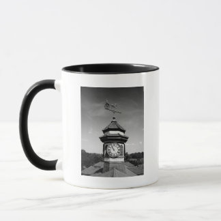 Horse Weather Vane and Clock Tower Mug