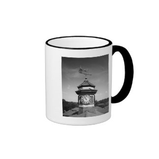 Horse Weather Vane and Clock Tower Coffee Mug