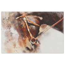 Horse Western Decoupage Art Tissue Paper