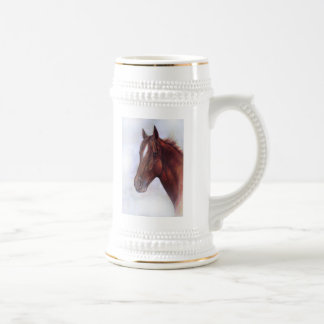 HORSE WHISPER BEER STEIN