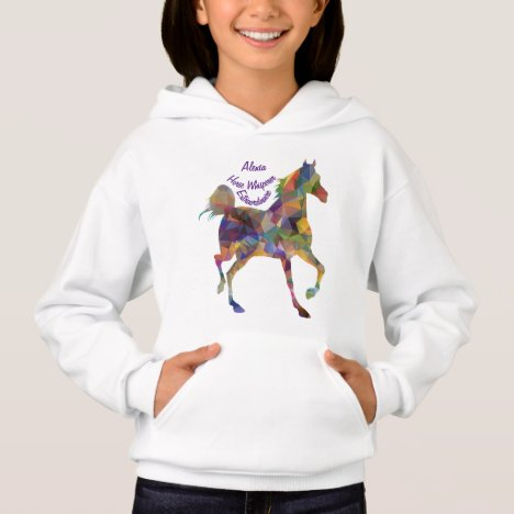 Horse Whisperer I Love Horses Personalize Name Hoodie