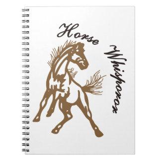 Horse Whisperer Notebook