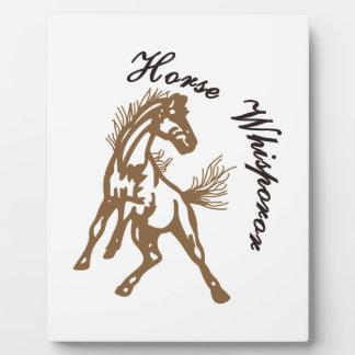 Horse Whisperer Plaque