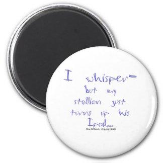 Horse Whisperer: stallion Ipod 2 Inch Round Magnet