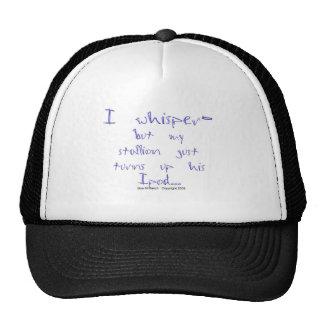 Horse Whisperer: stallion Ipod Trucker Hat