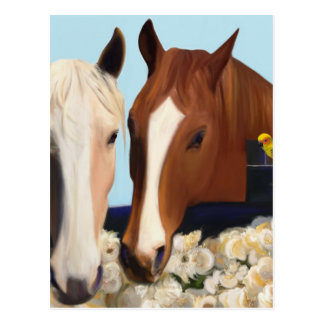 Horse Whispers Postcard