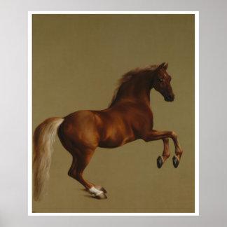 Horse Whistle Jacket 1762 Vintage Art Print Poster