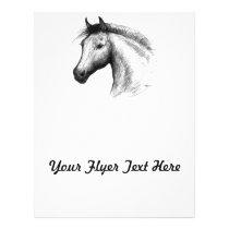 Horse:  White Flyer