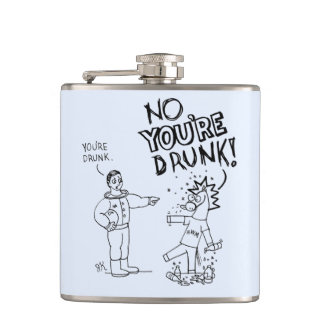 Horse Widda Mohawk Flask