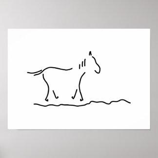 horse wild horse ride poster