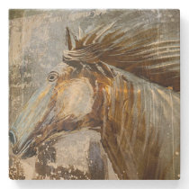 Horse Wild Mustang Country Western Cowboy Stone Coaster