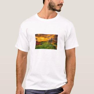 horse wisdom sunset T-Shirt