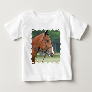 Horse with Bridle Baby T-Shirt