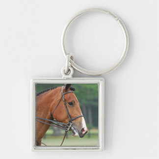 Horse with Bridle Keychain