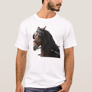 Horse with bridle T-Shirt