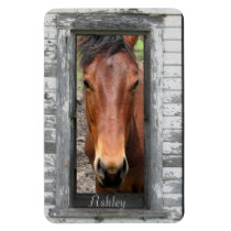 Horse with name magnet