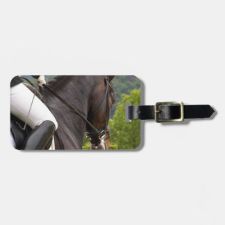Horse with Raising Luggage Tag
