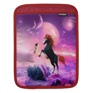 Horse with wonderful fairy sleeve for iPads