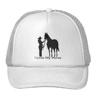 Horse Woman - I Love My Horse Hat