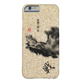 horse -youngstar Japanese art Barely There iPhone 6 Case