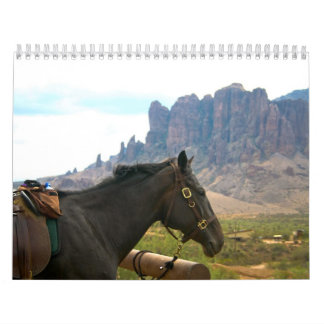 Horseback calendar