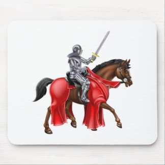 Horseback Knight Mouse Pad