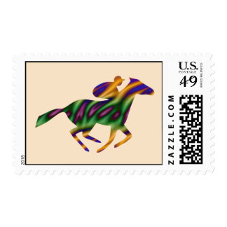 Horseback Ride Excitement Stamps