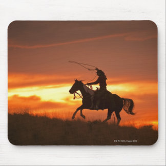 Horseback rider 11 mousepads