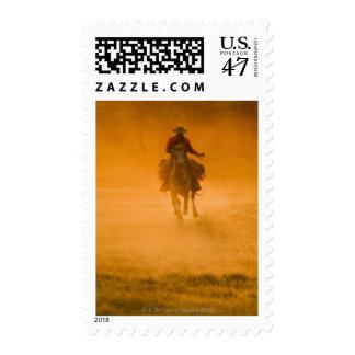 Horseback rider 12 postage stamp