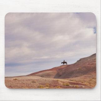 Horseback rider 14 mouse pad